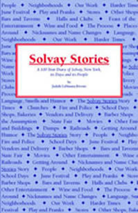 Solvay Stories Front Cover