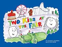 Two Kids at the Fair Front Cover